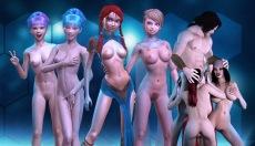 3D Girlz APK game with MMORPG girls