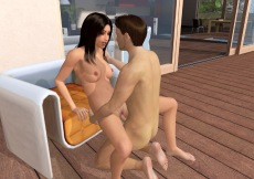Chathouse 3D game with online virtual sex