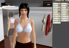 Model customization in Chathouse 3D game