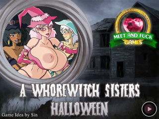 Meet N Fuck mobile game A WhoreWitch Sisters Halloween