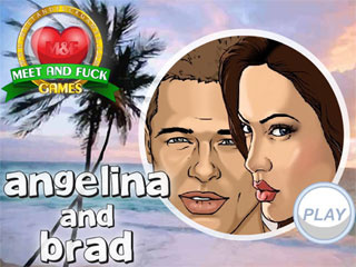 MeetAndFuck mobile free game Angelina and Brad