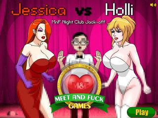 Meet N Fuck mobile online game Jessica vs Holli