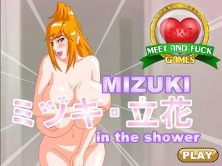 MeetAndFuck APK game free Mizuki Shower