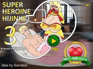 Meet and Fuck games Android Super Heroine Hijinks 3 Home for Holidays