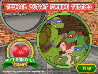 MeetAndFuck mobile game Teenage Mutant Fucking Turtles